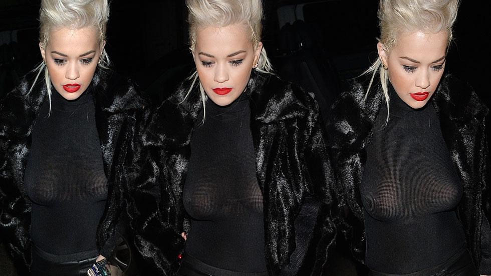 Rita Ora Wardrobe Malfunction