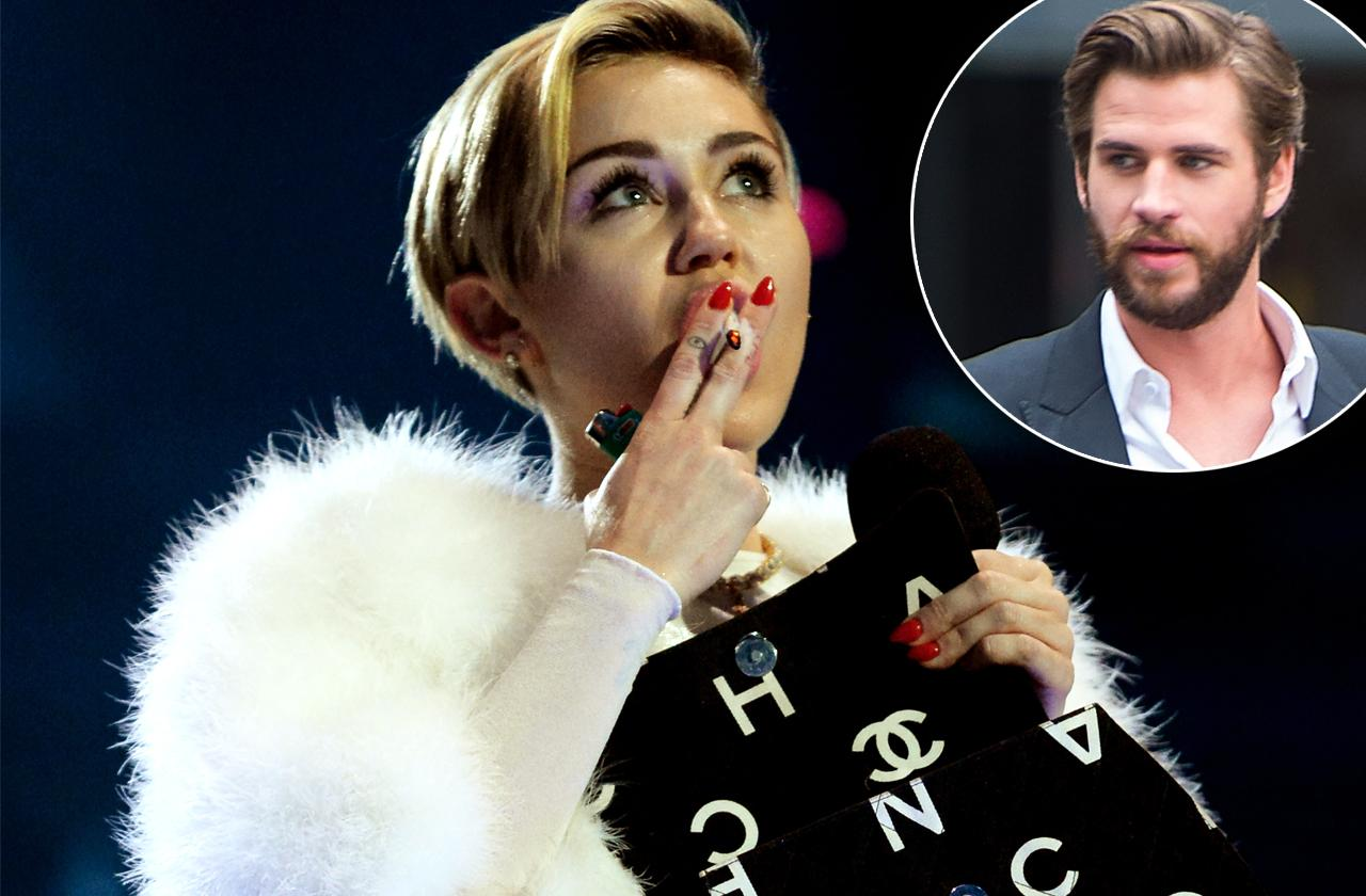 miley cyrus weed marijuana ruin wedding liam hemsworth furious