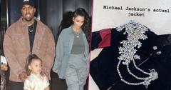 Kim And Kanye Give Daughter Michael Jackson Coat For Christmas
