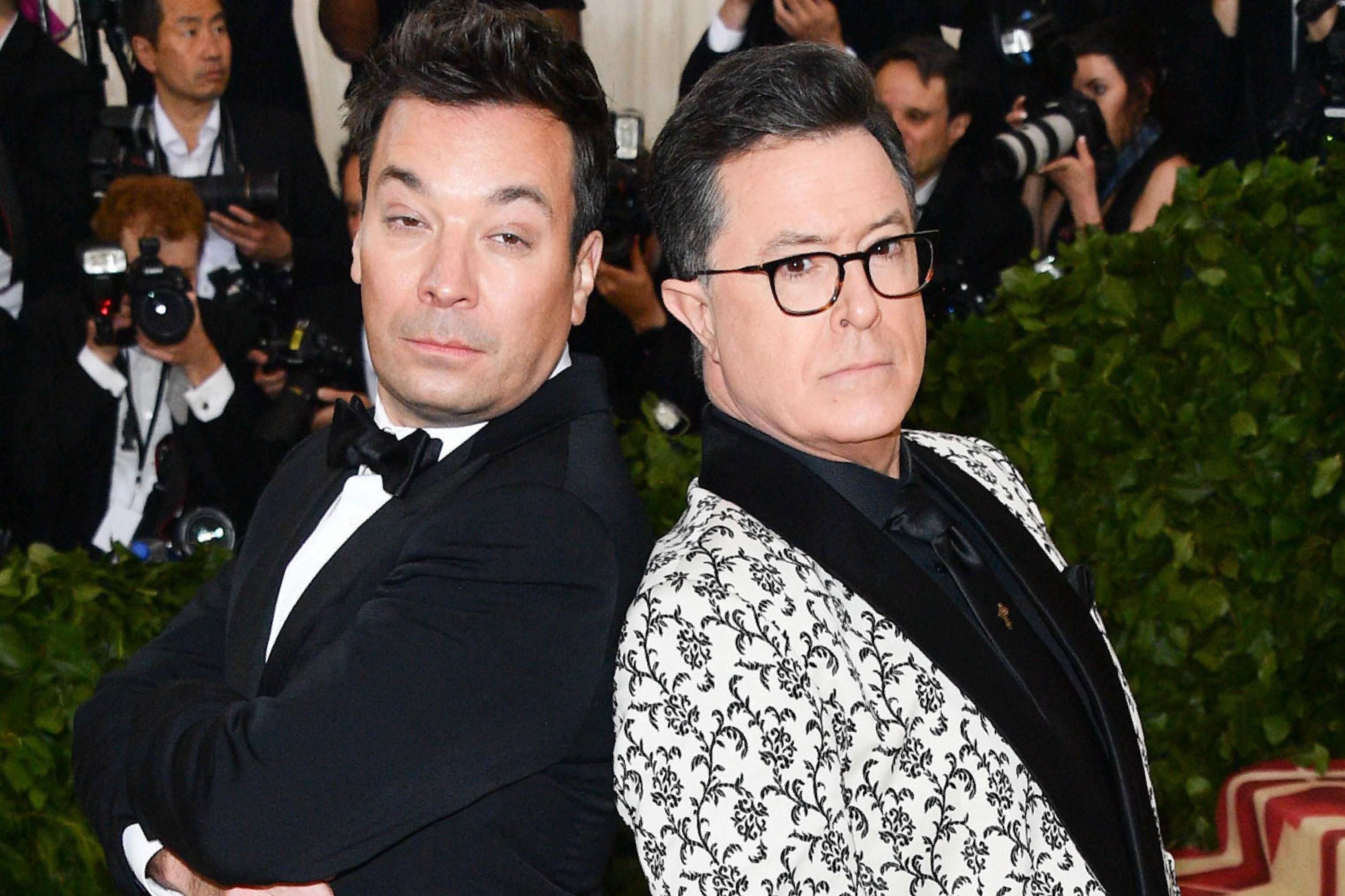 Jimmy Fallon's Tonight Show Gig In Danger Stephen Colbert Ratings