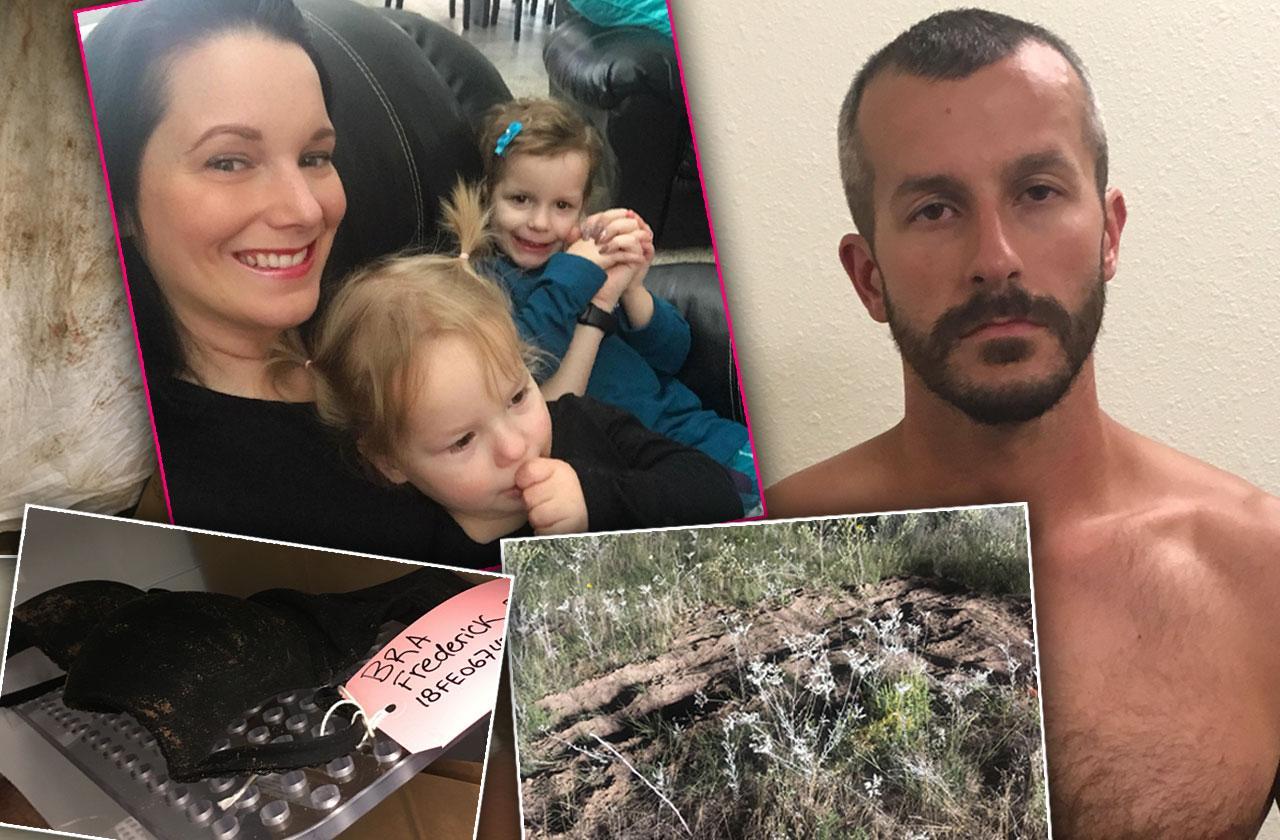 Chris Watts Murder Shanann Clothes Evidence Grave