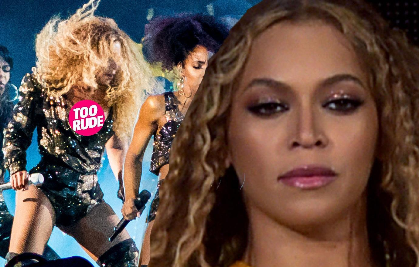 Beyonce Near Wardrobe Malfunction Coachella Destiny's Child Reunion