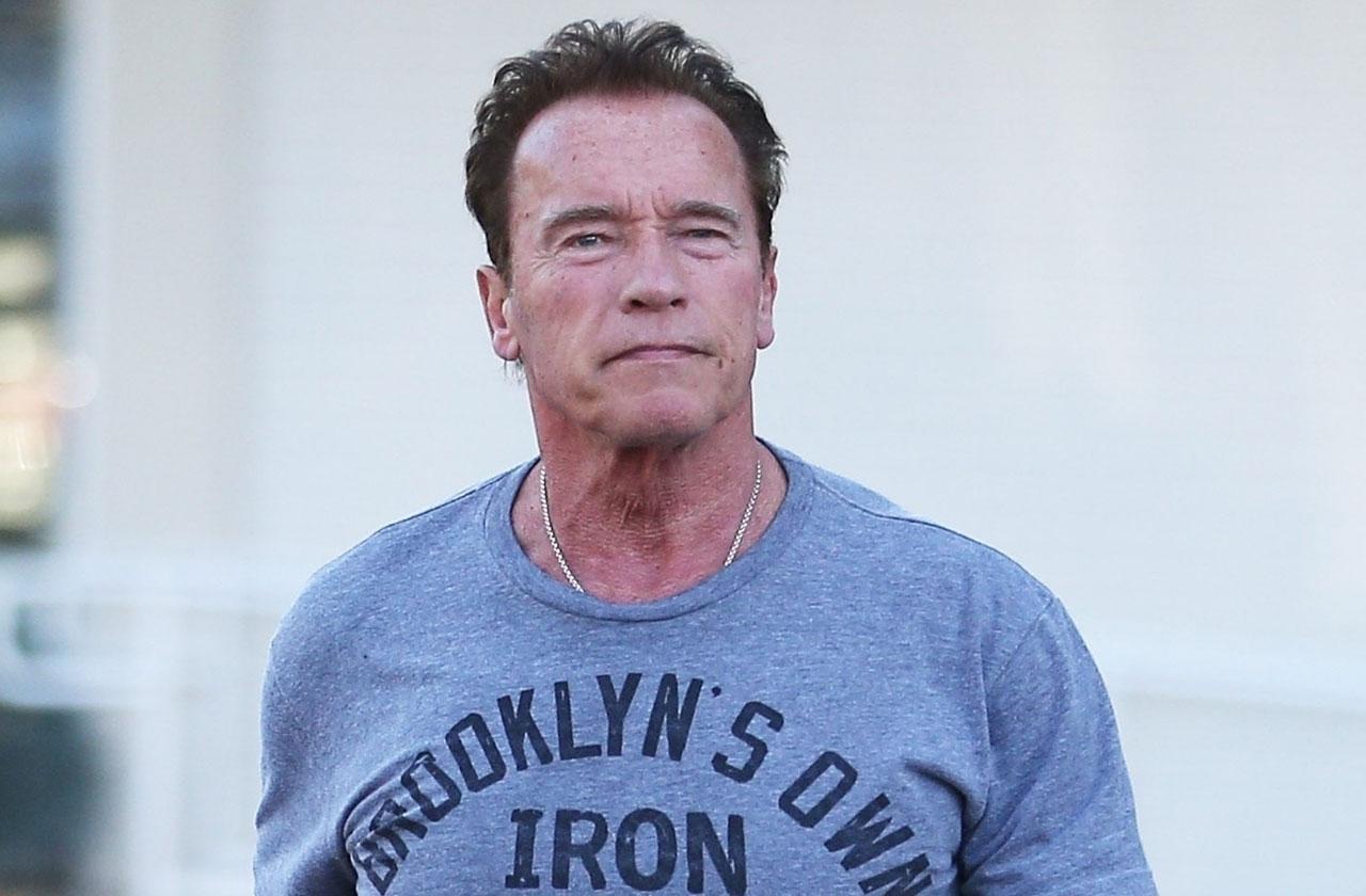 //arnold Schwarzenegger heart surgery discharged hospital health crisis pp
