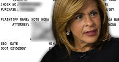 //hoda kotb divorce papers burzis kanga exposed pp