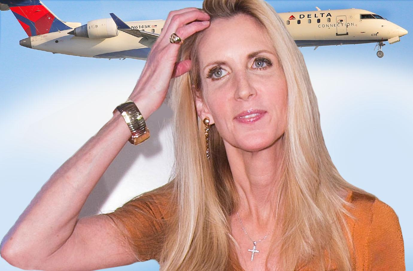 Ann Coulter Blasts Delta For Booting Her From Assigned Airplane Seat