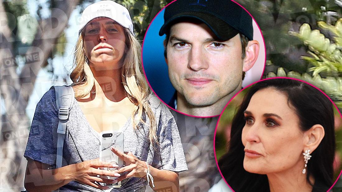 Sara Lear Ashton Kutcher and Demi Moore