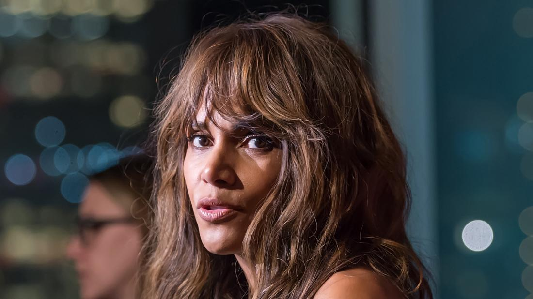 Halle Berry attends the revlon event.