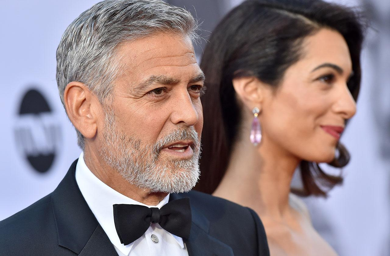 George Clooney Corruption Report