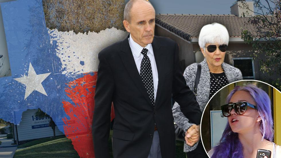 //amanda bynes parents move to texas