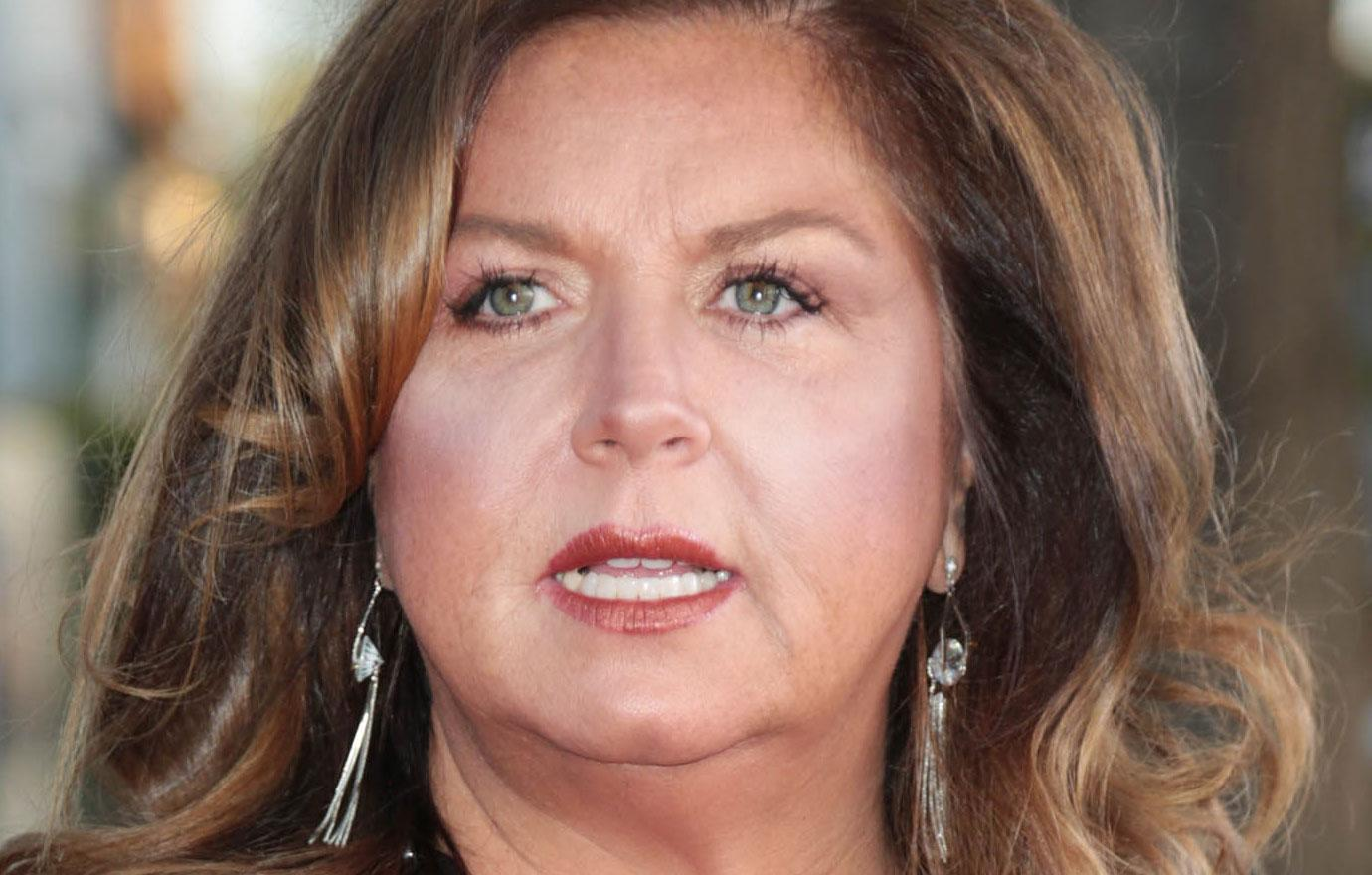 Cancer Stricken Abby Lee Miller In A Hospital Harness