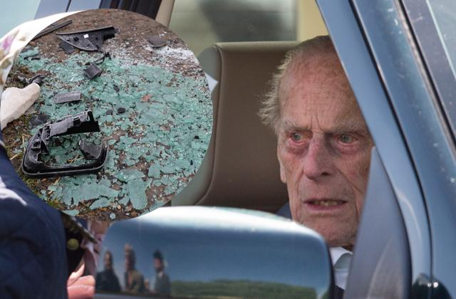 //prince philip gives up driving license after crash pp