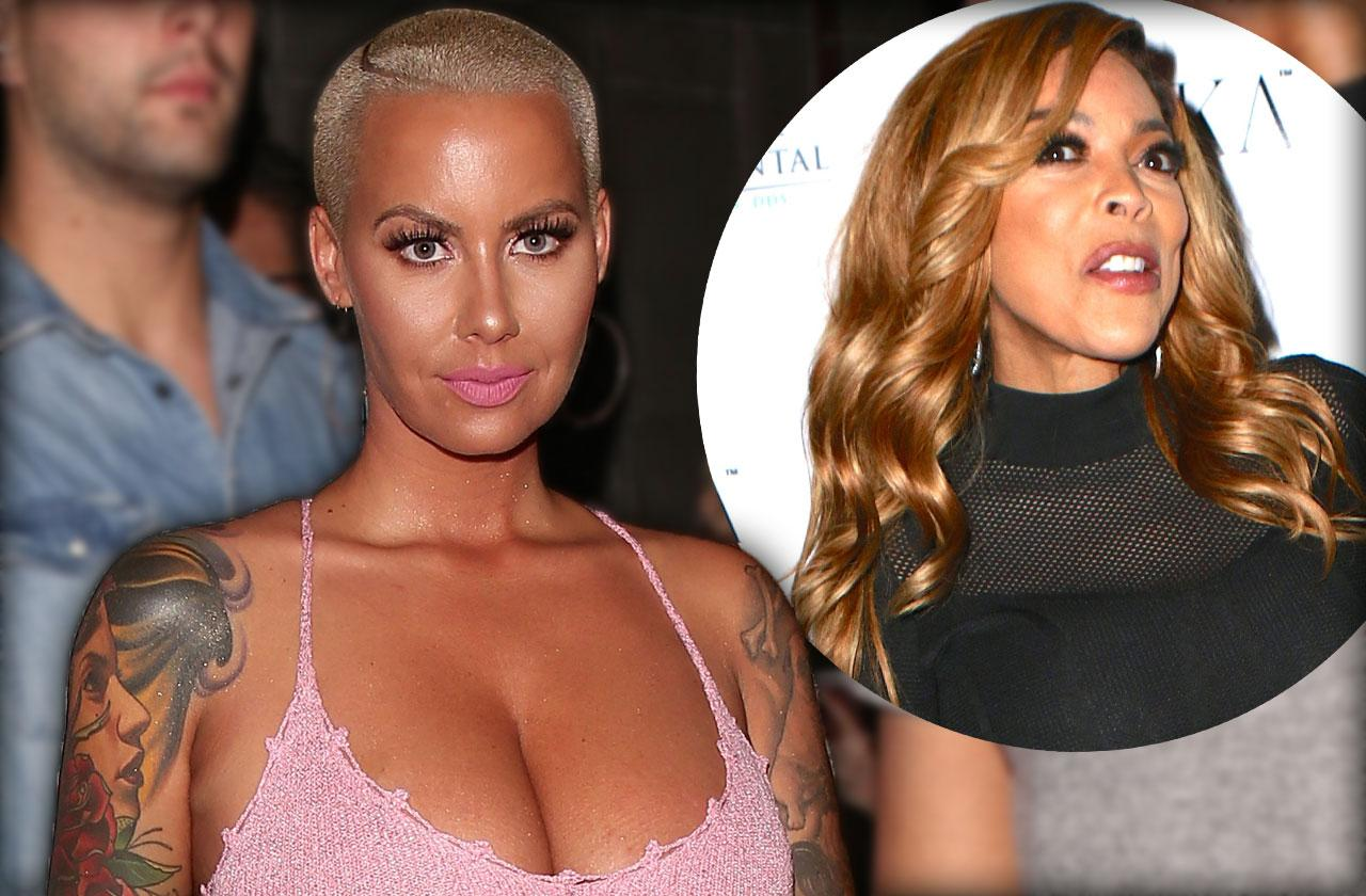 Amber Rose Show Host Wendy Williams Feud