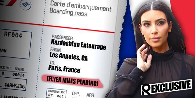//kim kardashian frequent flyer miles wedding guests paris france kanye west  wide