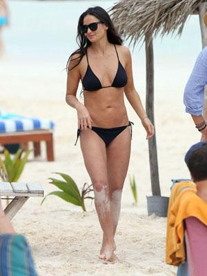Demi Moore and Rumer Willis Enjoy Holiday With Their Boy Toys