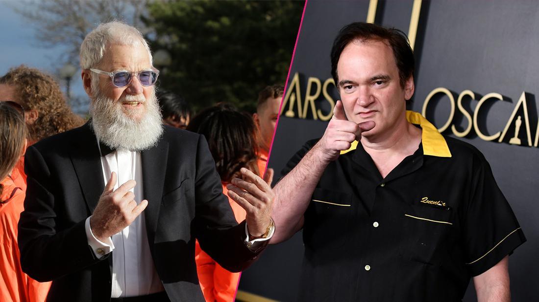 Pulp Friction! David Letterman Says Quentin Tarantino Once Threatened To Kill Him
