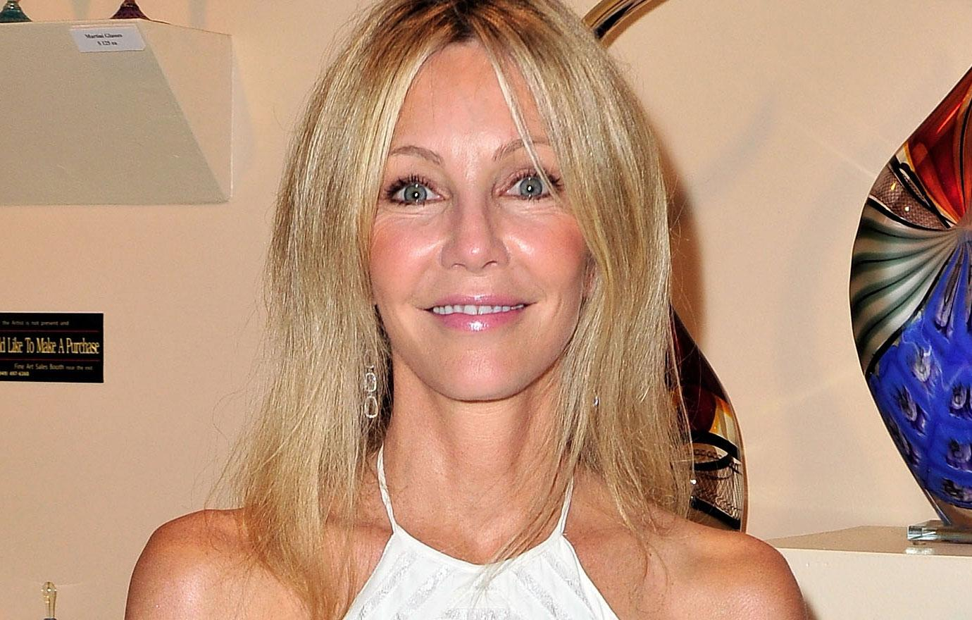 Heather Locklear Out Of Rehab For Christmas