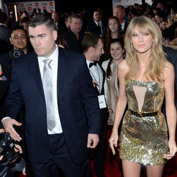 2013 American Music Awards -taylor swift bodyguards