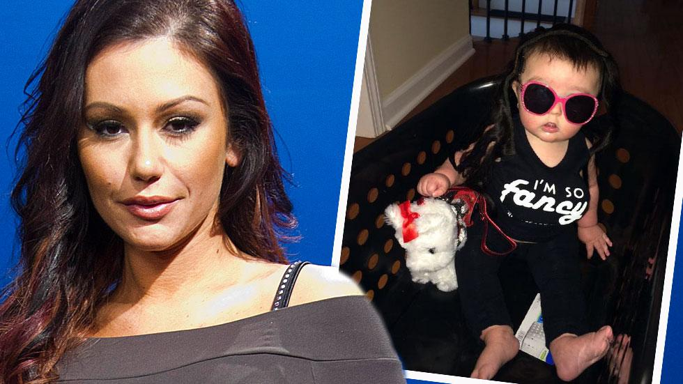 JWoww Dresses Up Baby With Wig & Fake Boobs