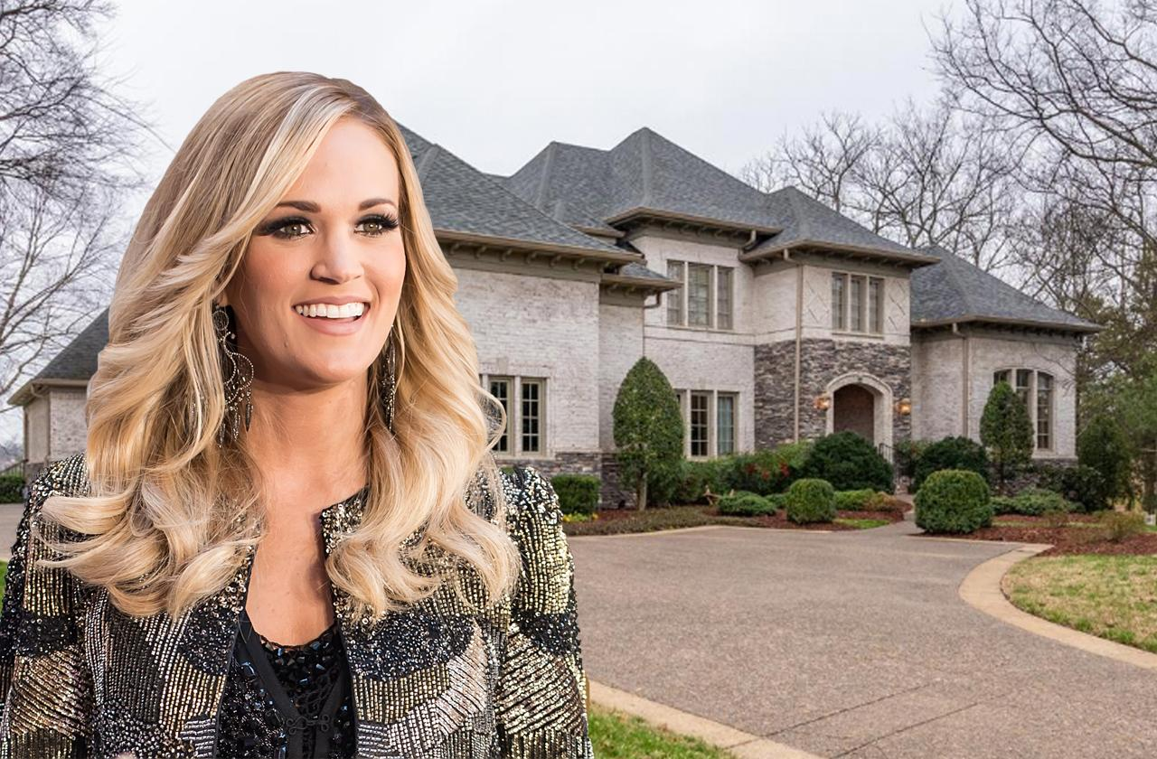 carrie underwood selling Nashville home accident face stitches