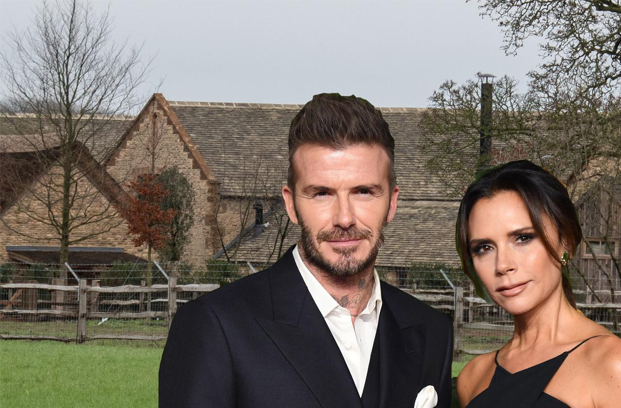 The Beckhams Turn British Country House Into Fortress