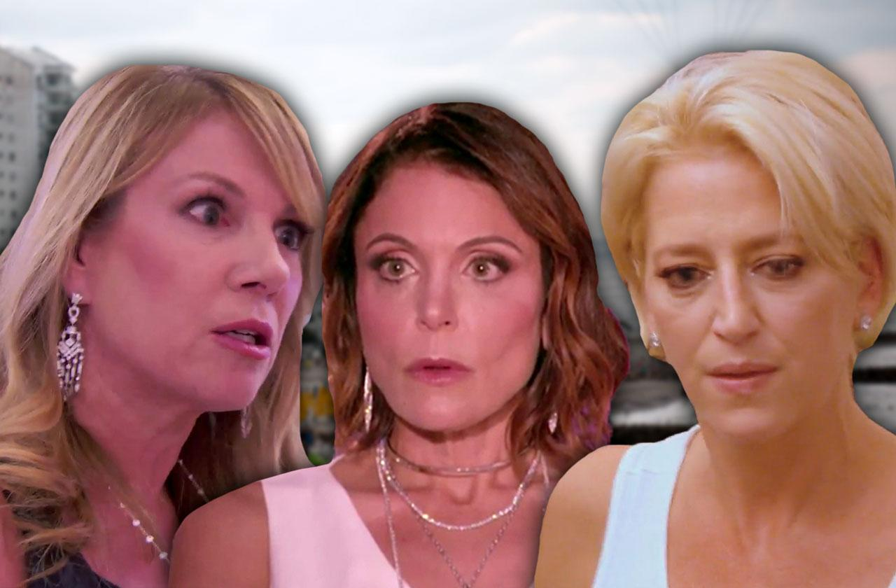 //real housewives new york sinking boat fire colombia pp
