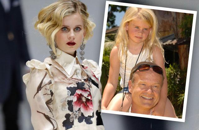 //kelsey grammer camille grammer daughter mason model runway