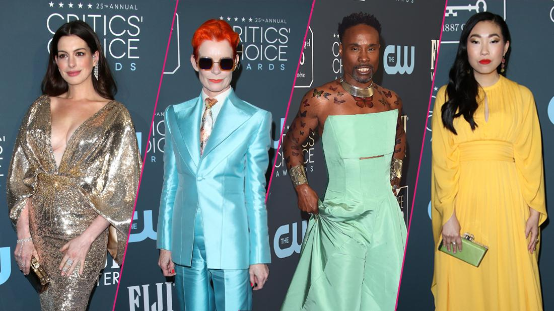Critics' Choice Awards 2020: Wackiest Celebrity Red Carpet Looks