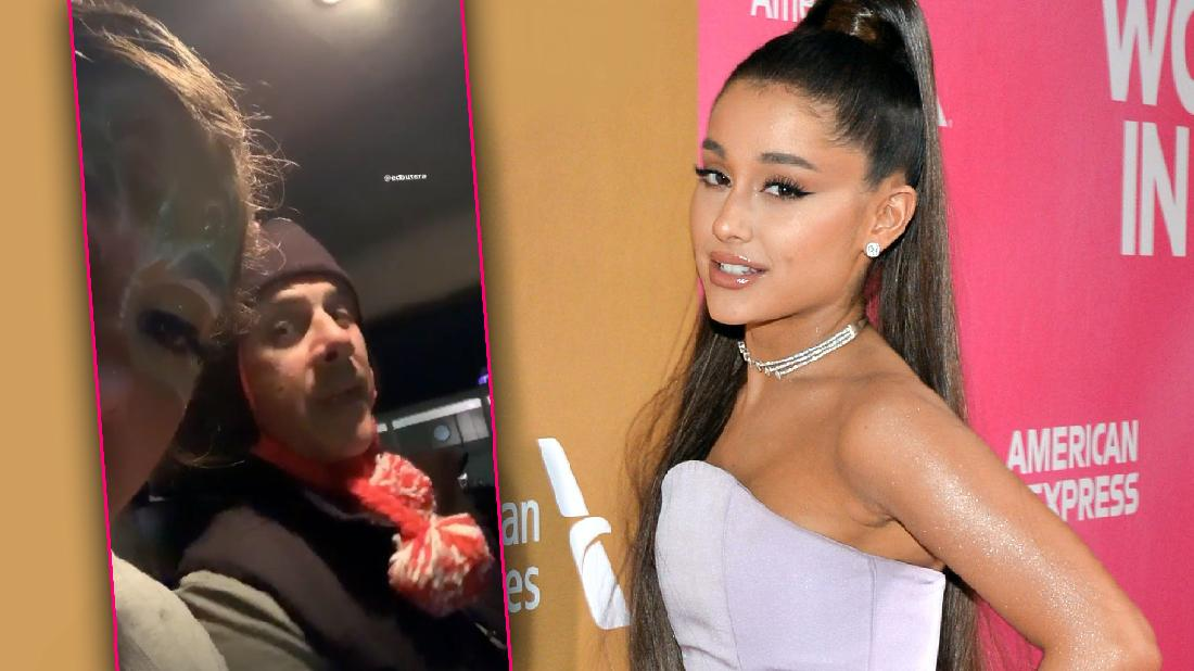 Ariana Grande Thanksgiving Reconciles With Dad