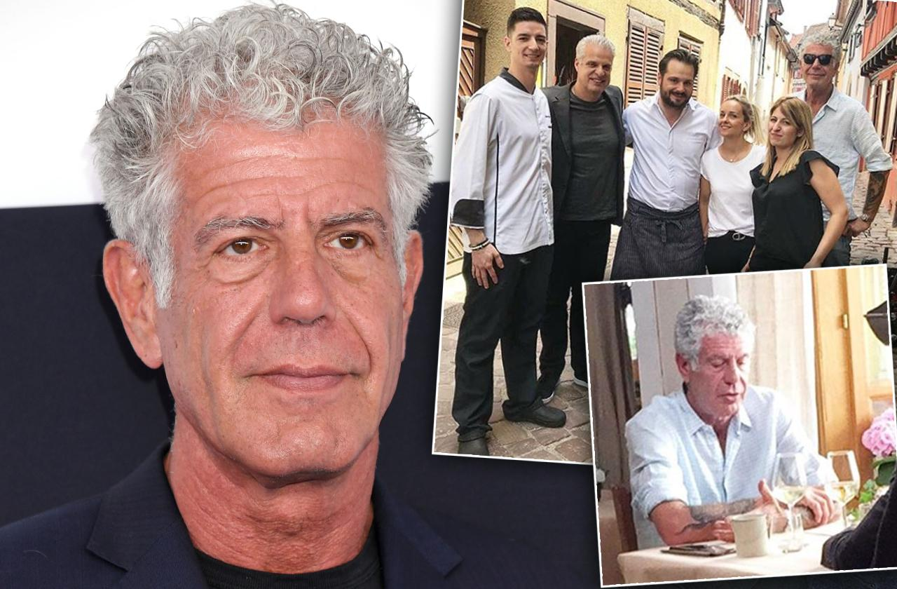 //anthony bourdain looks exhausted in france final photos two days before suicide pp