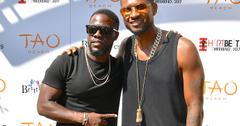 Kevin Hart Hangs Out With Usher During Herpes Scandal