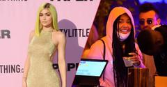 kylie jenner and jordyn woods at coachella