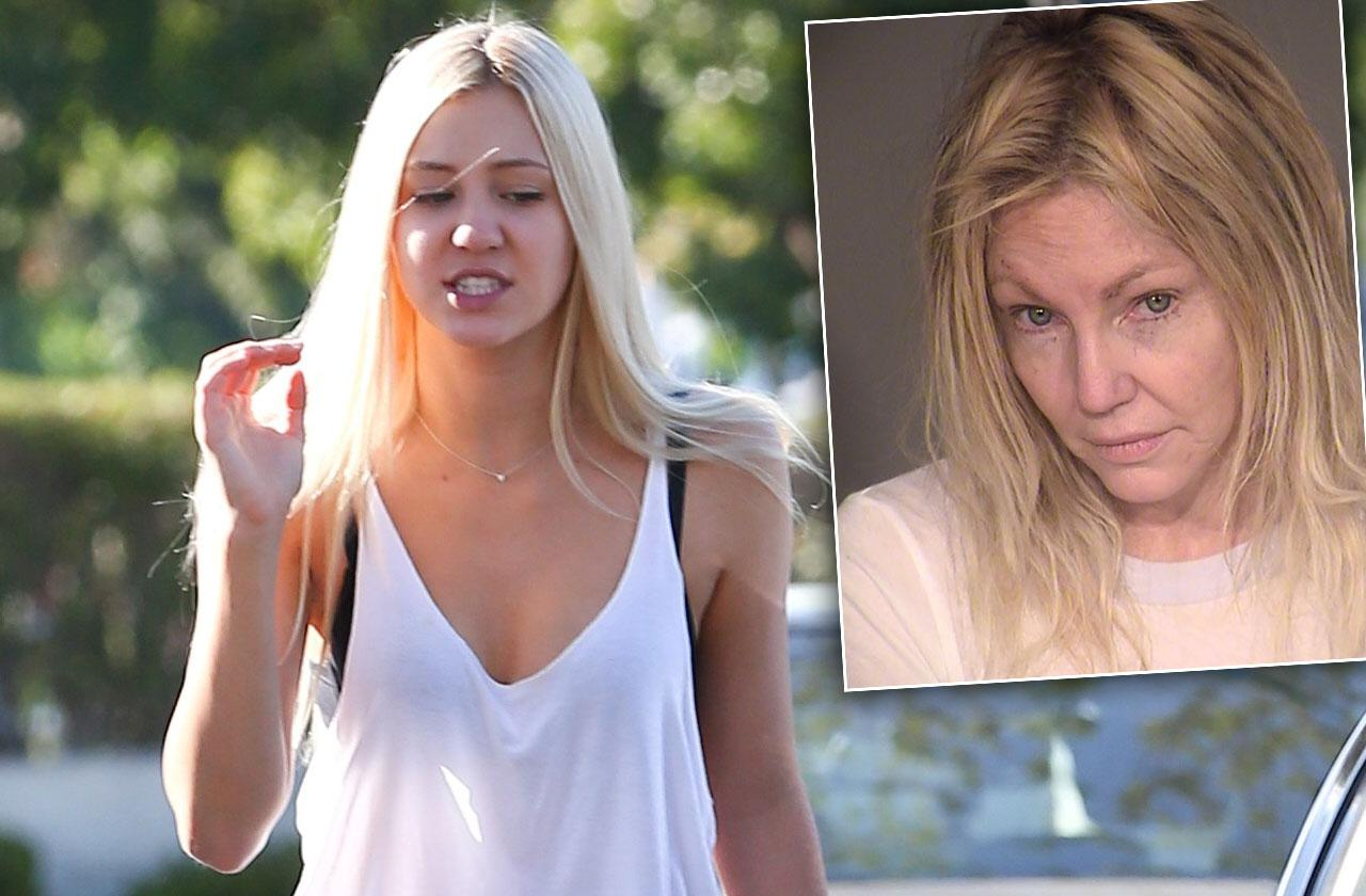 //heather locklear arrested daughter witnessed violent fight pp