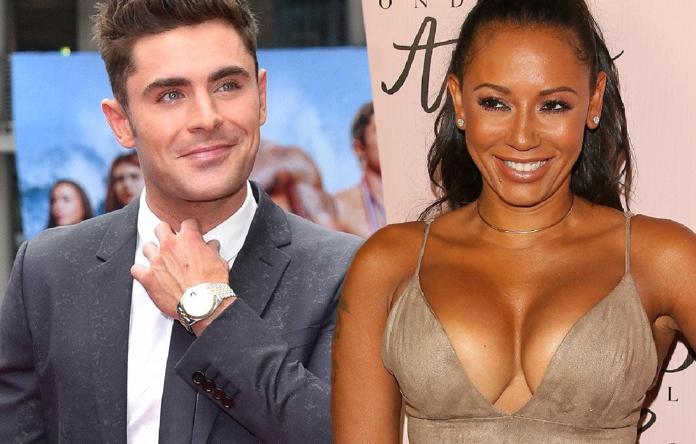 Mel B Had Night Of Passion With Zac Efron