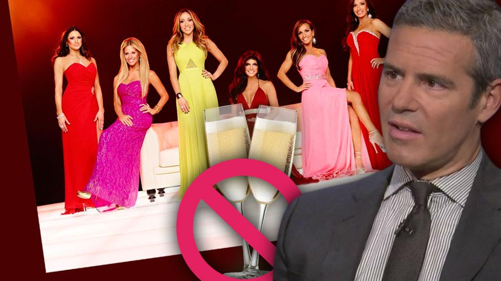 //real housewives of new jersey reunion andy cohen says no to liquor