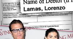 //lorenzo lamas files bankruptcy second time sq