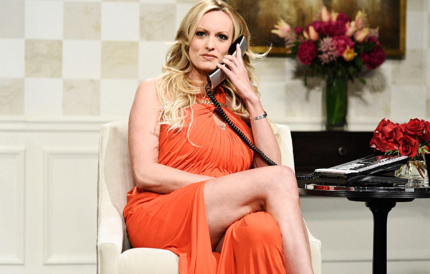 Stormy Daniels Appears Saturday Night Live