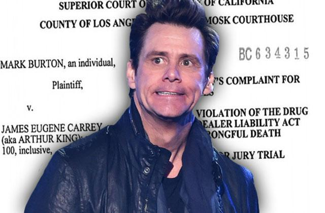 //jim carrey sued wrongful death cathriona white prescription pills  pp