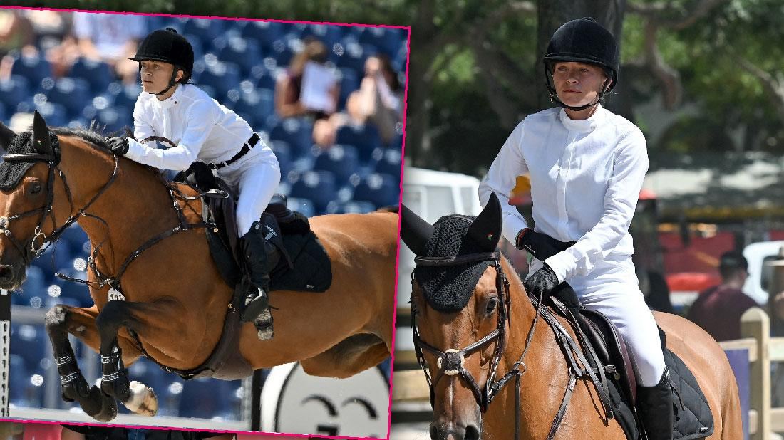 Mary-Kate Olsen Competes At Equestrian Event In France