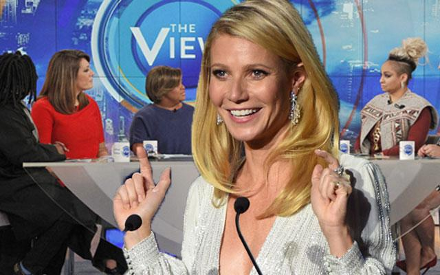 'The View' Gwyneth Paltrow Co-Host