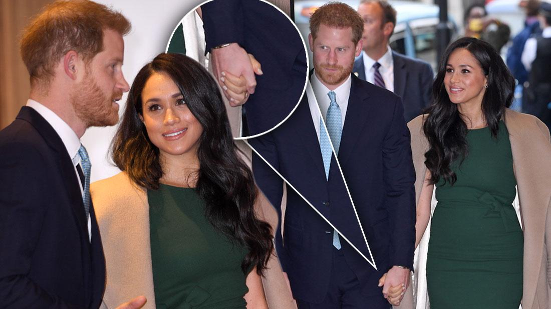 Meghan Markle & Prince Harry Hold Hands At WellChild Awards