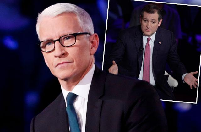 //Anderson Cooper Slams Ted Cruz Town Hall Debate Lovefest pp