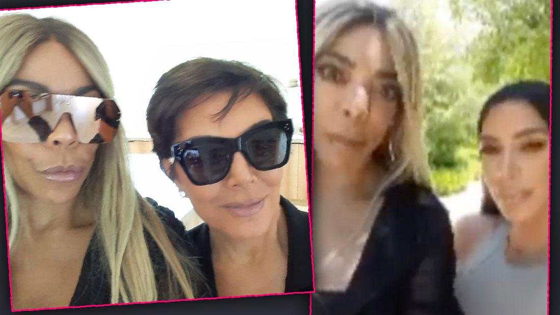Wendy Williams Hangs Out With Kim Kardashian Kris Jenner