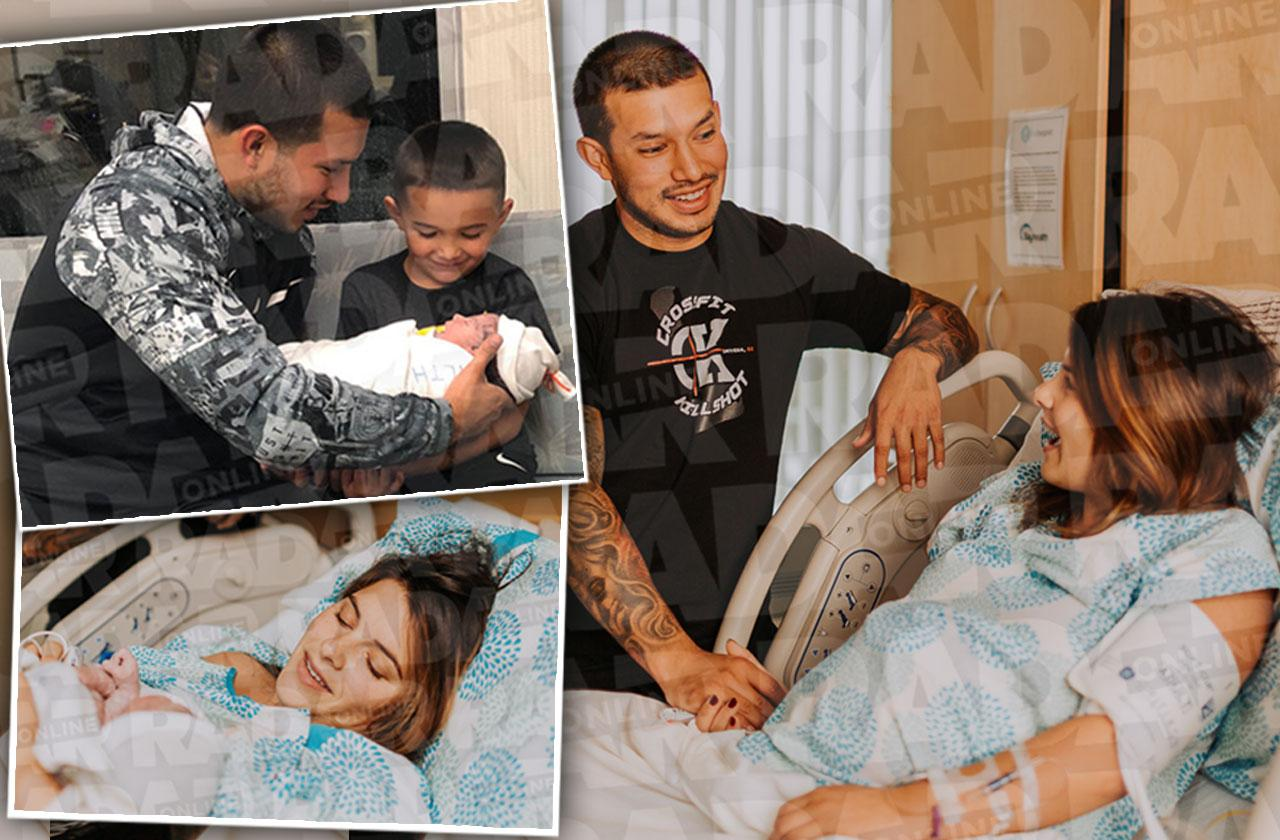 //javi marroquin baby name revealed teen mom  pp