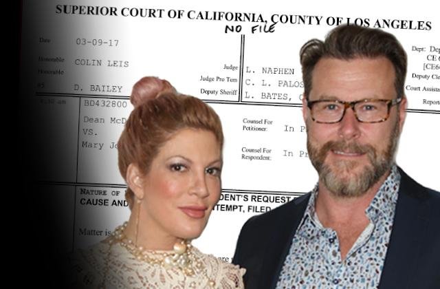 Dean McDermott Tori Spelling Ex Drops Demand Child Support