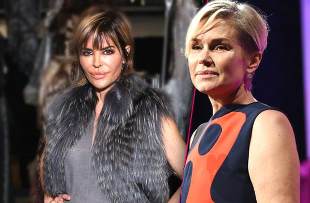Yolanda Hadid Confronting Lisa Rinna At Reunion About Lyme Disease Rumors