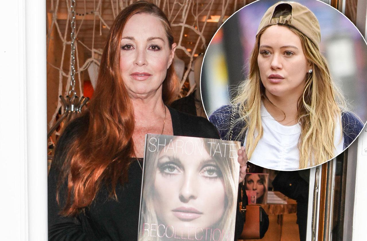 //Sharon Tate Sister Hilary Duff Film pp