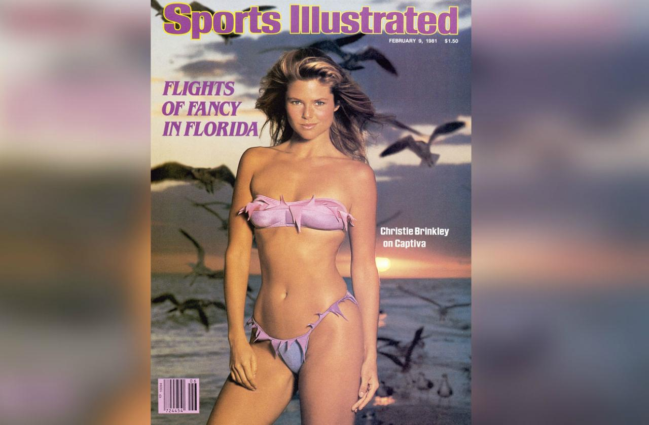 One of Christie Brinkley's hottest shots has to be her second cover of Sports Illustrated's Swimsuit Issue in 1981