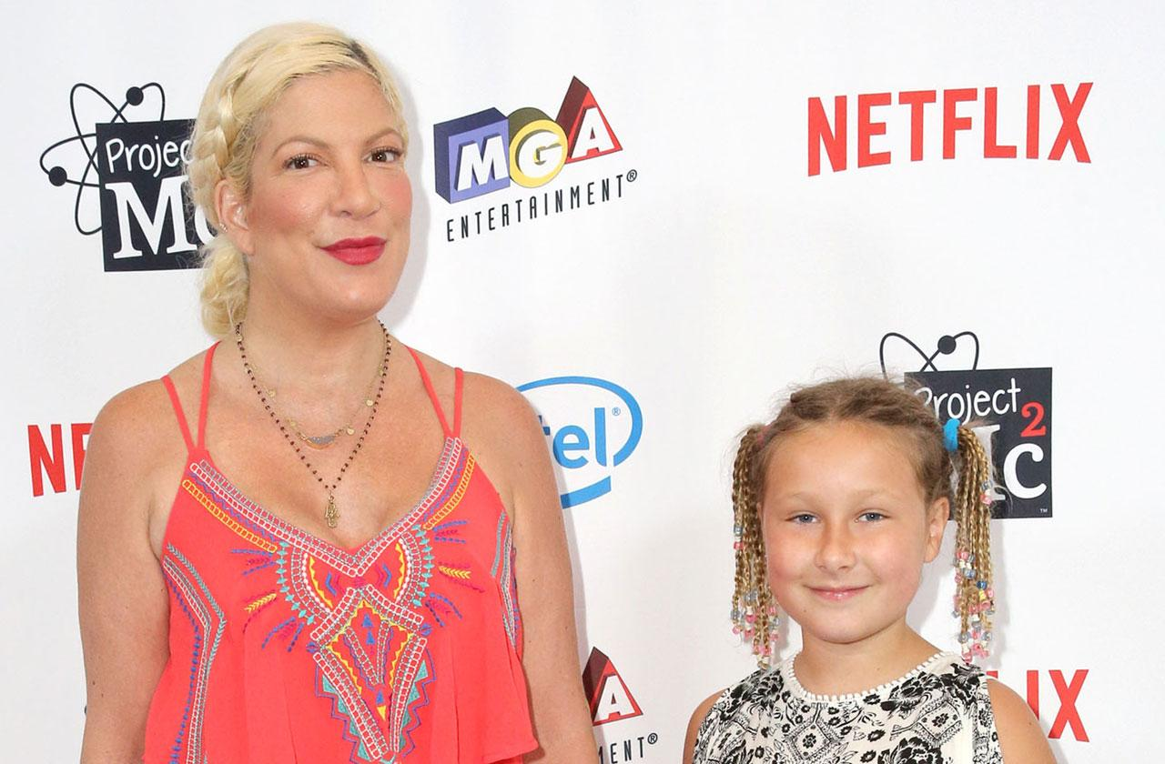 tori spelling slammed daughter slime business fraud