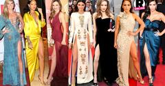 //celebs showing leg in slit to there dresses pp sl