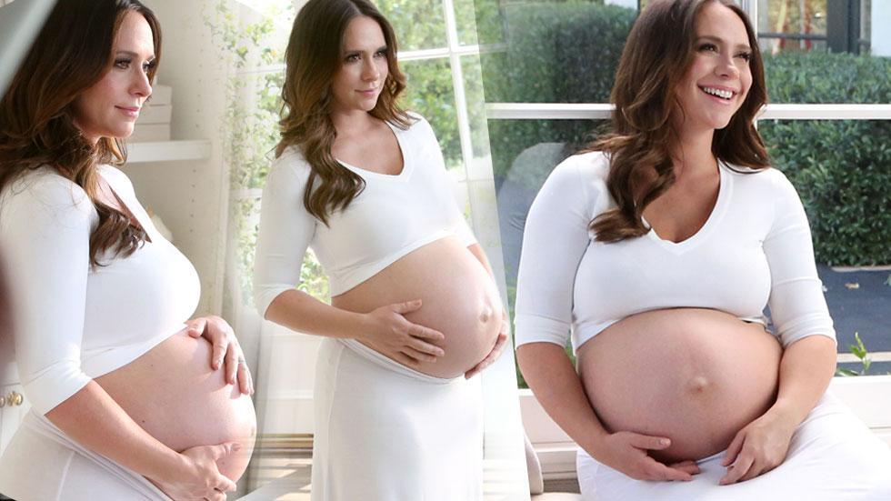 Jennifer Love Hewitt Pregnant Baby Bump Photo Shoot